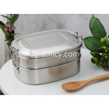 Edelstahl Lunch Box Travel Bowl