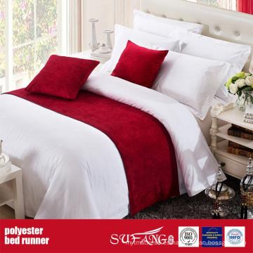 Corredor de la cama de la tela de la decoración del poliéster