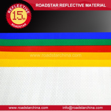 Nontoxic PET lozenged reflective sheeting