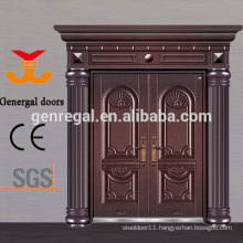 Luxury Exterior Double entry Aluminum casting Doors
