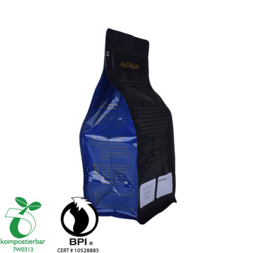 Zipper Flat Bottom Komposable Dan Biodegradable Plastic Bag