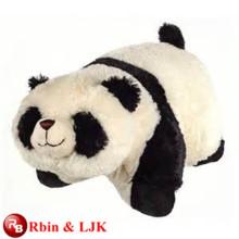 Treffen Sie EN71 und ASTM Standard ICTI Plüsch Spielzeug Fabrik gefüllte Tiere Panda