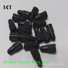 Tire Valves Cap PP Anti-Dust Bicycle Tyre French Style Shape Kxt-FC01