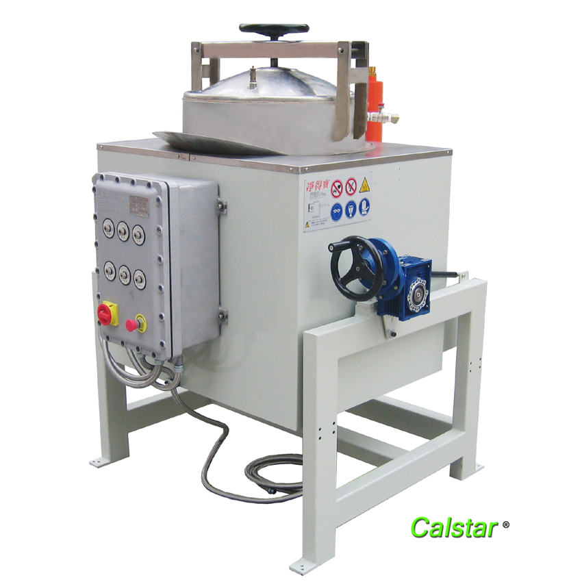 Waste solvent disposal machine