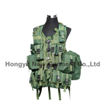 Tactical Paintball Combat Soft Gear Molle Airsoft Military Weste (HY-V056)