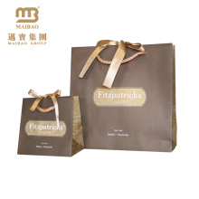 Wholesale Custom Handmade Small Packaging Decorative Gift Shopping Paper Bags With Handles