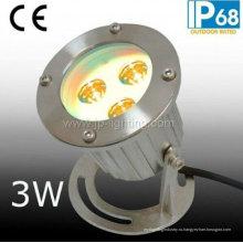 IP68 Нержавеющая сталь светодиодный подводный свет пятна с кронштейном (JP90031)