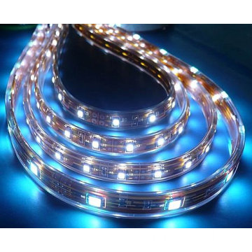 Decoración de color blanco Vista lateral SMD 3014 LED Strip