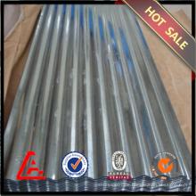 762mm verzinktes gewelltes Stahlblech / verzinktes Stahlblech / preiswerter Preis Metalldach