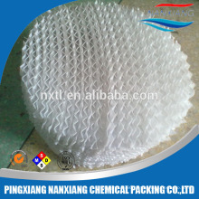PP PE Plastic knitting gauze Structured packing structured media