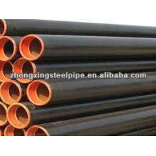 API 5L x52 psl1 línea inconsútil de la pipa para aceite