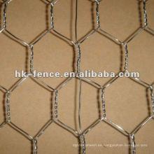Malla de alambre de ave de corral galvanizada