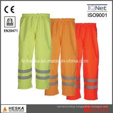 Good Quality Safety Waterproof Wear Warning Hi Vis Pants Standard En20471