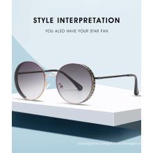Retro High Quality UV400 Women Sunglasses