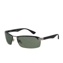 2021 Half Rim Metal UV400 Protect Glasses Mens Sports Sunglasses