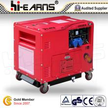 5kw silencioso tipo gerador diesel / homeuse gerador conjunto (DG6500SE-N)