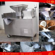 Máquina de desenho em grelha de coco de aço inoxidável Máquina de imprensa de leite de coco