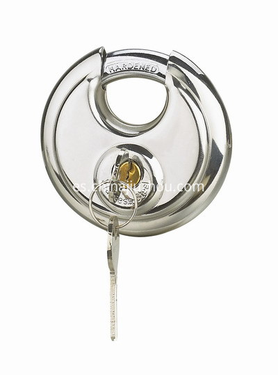 STAINLESS STEEL DISC PADLOCK-400