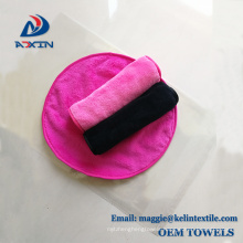Alibaba China factory supplier 100% polyester makeup removal cloth