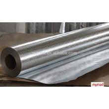 Doppelseitige Aluminiumfolie, doppelseitige Folien-Scrim-Kraft-Verkleidung, Aluminiumfolie Isoliermaterial