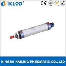 Cylindre d'air à double effet en aluminium Mal40-200