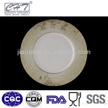 ZH005 Elegante dekorative Servierplatte mit Abziehbild