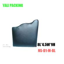 Soporte de exhibición de la joyería del collar de la PU del metal (NS-D1-M-BL)