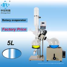 Máquina de destilación de aceite de cbd RE-501 rotovap 5l