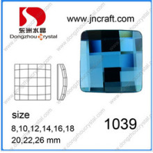 Flat Back Square Strass Stones Beads