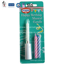 Happy Birthday Musical Taper Candle