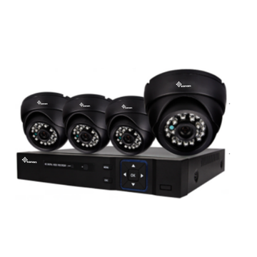 Kit CCTV DVR per telecamera IR CMOS da 2 MP