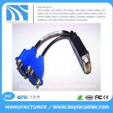 DVI splitter cables 59 PIN TO 2 DUAL VGA FEMALE SPLITTER