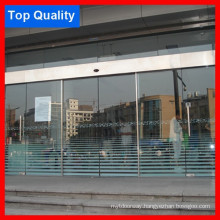 Frameless Stainless Cover Hotel Automatic Door