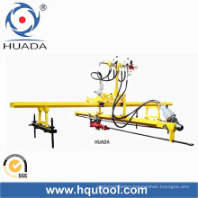 Single Hammer Rock Driller for Stone. Vertical and Horizontal
