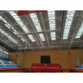 Q345b Light Curved Steel Truss Roofing System Design