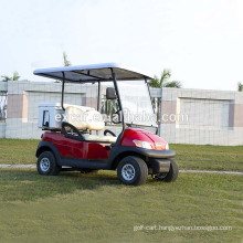 EXCAR 2 Seater electric golf cart buggy car club car with refrigerator box