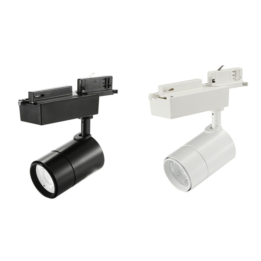 18W LED Track Lights White and Black