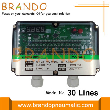 30 Lines Dust Collector Pulse Jet Timer Controller