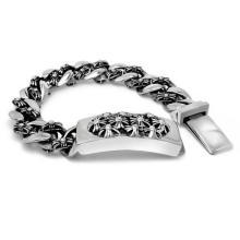 Панк и рок Стиль мода ID браслеты ювелирные изделия тела титана унисекс