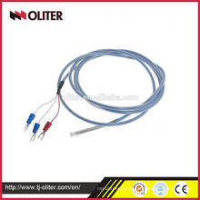 stainless steel rtd temperature sensor thermocouple pt500 with protection tube