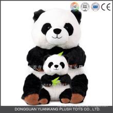 Wholesale Black and White Panda Teddy Bear Doll Soft Panda Plush Toy
