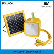 Glowing Strap Battery Indicator Lâmpada de energia solar com rádio