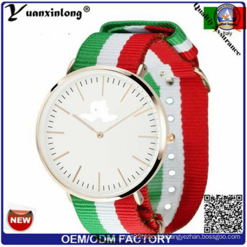 Yxl-517 Casual Nylon Lovers Watch Women Wristwatches Fashion Luxury Business Nato Strap Watch Japan Movt Quartz Watch