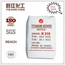 Dióxido de Titanio TiO2 Rutilo Económico para Propósitos Generales