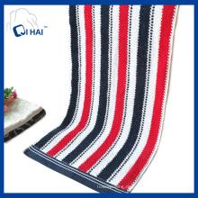 Pure Cotton Garn gefärbt Farbe Strip Face Handtuch