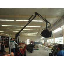 PTO Log Trailer with crane