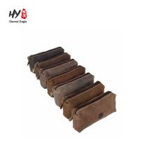 Soft eyeglass full grain bag assorted color leather case