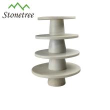 Hot Sale Tableware Of Marble Fruit Platter
