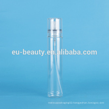 150ml PET bottle with pump and overcap