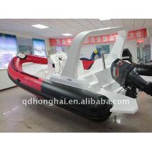 2011 años nuevos caliente RIB680A deporte inflable barco lujoso yate
